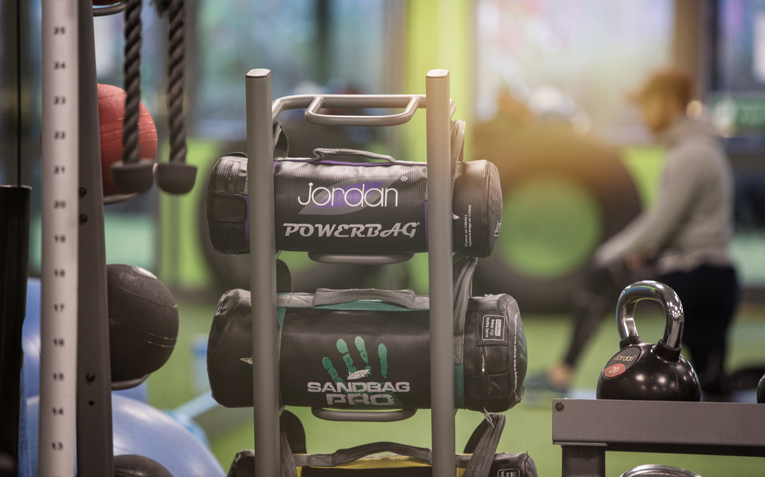 The Village Gym is fully equipped with the latest equipment
