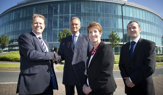 Global tech firm Hewlett Packard expands its base at Cobalt Business Park