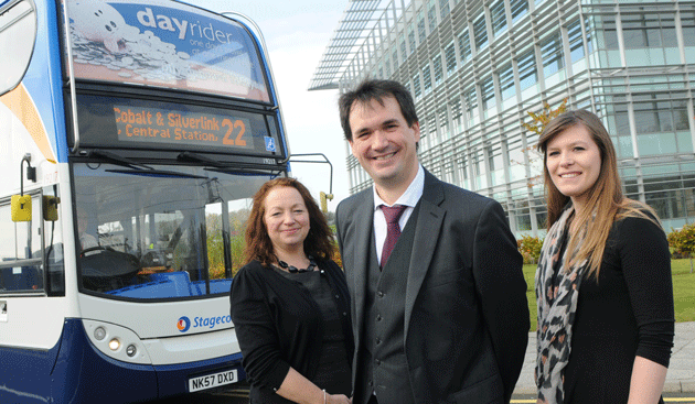 Bus operator launches new links to business park