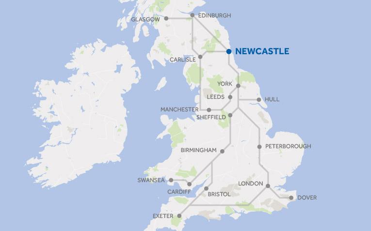Brittish rail network